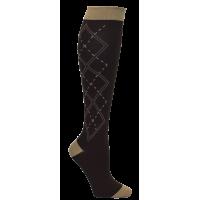 Mens Argyle Premium Compression Sock - 94760