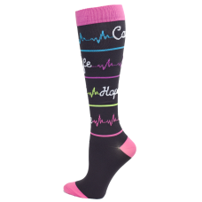 Premium Heal Script  Fashion Compression Sock - 94762