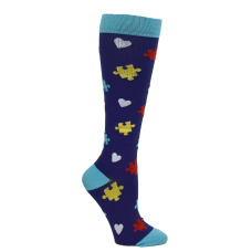 Premium Autism Awareness Fashion Compression Sock - 94763