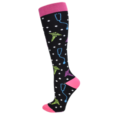 Premium  Medical Icons Fashion  XL Compression Sock- 94774