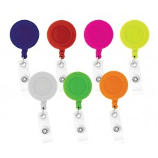 36pc Solid Assorted Retractable ID Holders - 94894