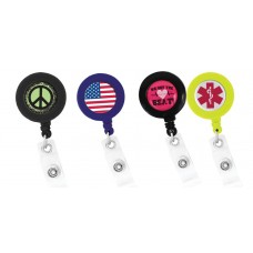 36pc Novelty Assorted Retractable ID Holders - 94896