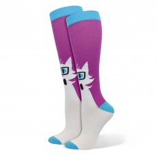 Cat With Glasses Fashion Compression Sock - 92034