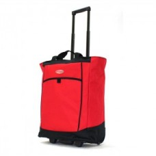 "Fashion Rolling Carry-All ""Red"" Tote - 01835"