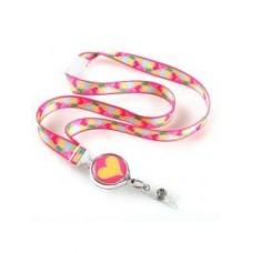Fun Hearts Ribbon Lanyard - 01257