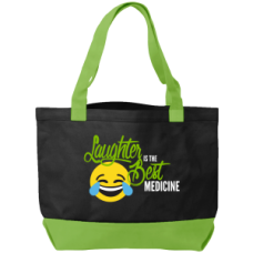 Laughter Is The Best Medicine - Black/Lime - 94554