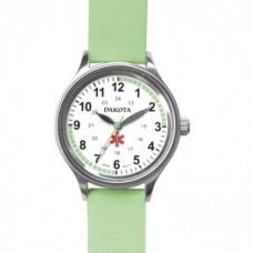 Leather Nurse Watch - Lt. Green - 01253