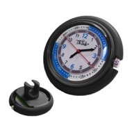 Nurse Stethoscope Watch - Black - 01148
