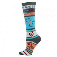 Nurses Healthcare Fashion Compression Sock - 94525