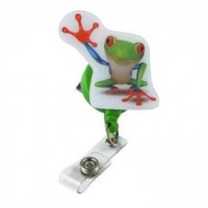 """""""Pop Outs"""" Badge Holder - Frog - 01303"""