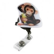 """Pop Outs"" Badge Holder - Monkey - 01305"