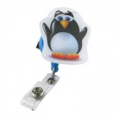 """Pop Outs"" Badge Holder - Penguin - 01306"