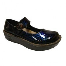 Savvy  Jane  Nursing Shoe - Blue Plaid
