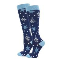 Snowflakes Fashion Compression Sock - 94052