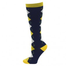 Ultra Soft Argyle Compression Sock - Regular - 94690