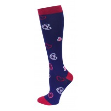 Hearts Compression Socks - Regular - 94735