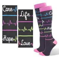 Premium Heal Script  Fashion Compression Sock - 94762