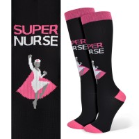 Super Nurse Fashion Compression Sock - 94807