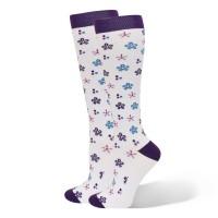 Flower Bursts  Fashion Compression Sock - 94808